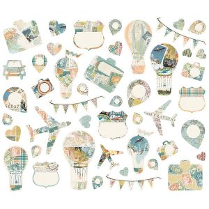 Die Cuts Simple Vintage Traveler