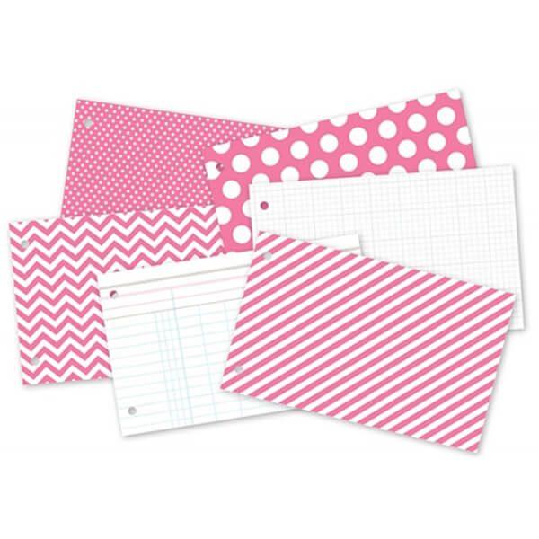 Pink Snap Binder 2