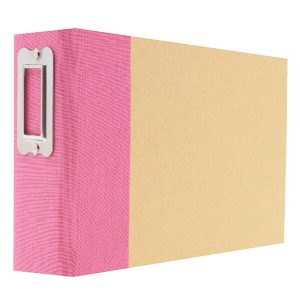 Pink Snap Binder