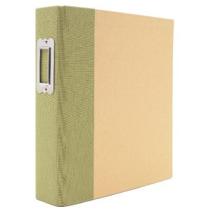 Snap Binder Green