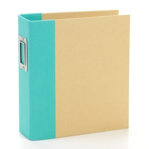 Snap Binder Teal