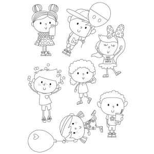 Stamps Happy Kids