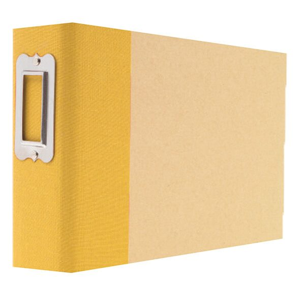 Yellow Snap Binder