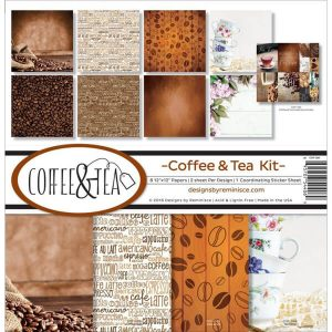 coffee & tea kit papeles