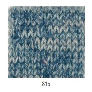 hilo mondial basic cotton azul vaquero jaspeado