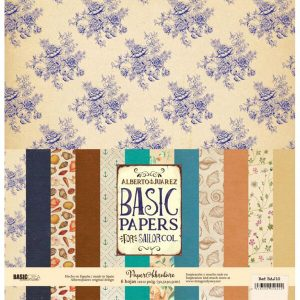 kit papeles basic papers sailor