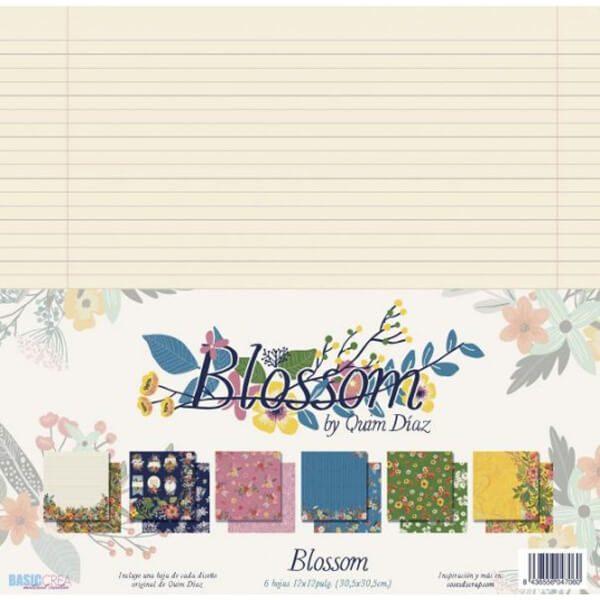 kit papeles blossom