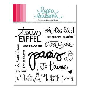 sellos acrílicos París