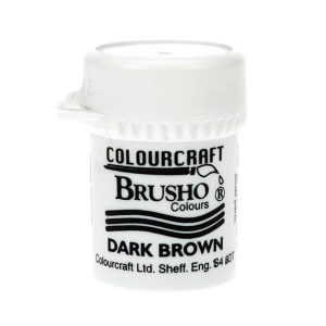 brusho dark brown