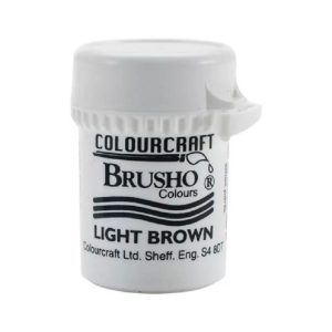 brusho light brown