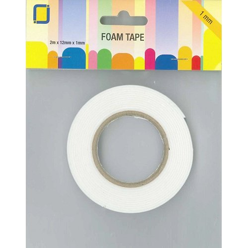 cinta doble cara foam 1mm