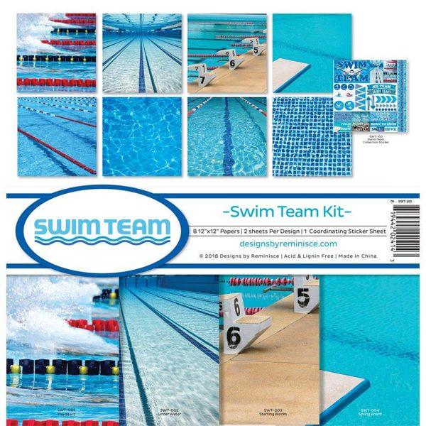 kit papeles swim team
