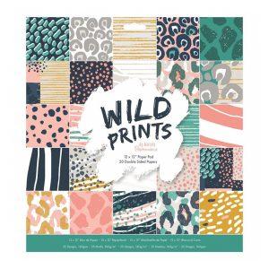 pad de papeles wild prints