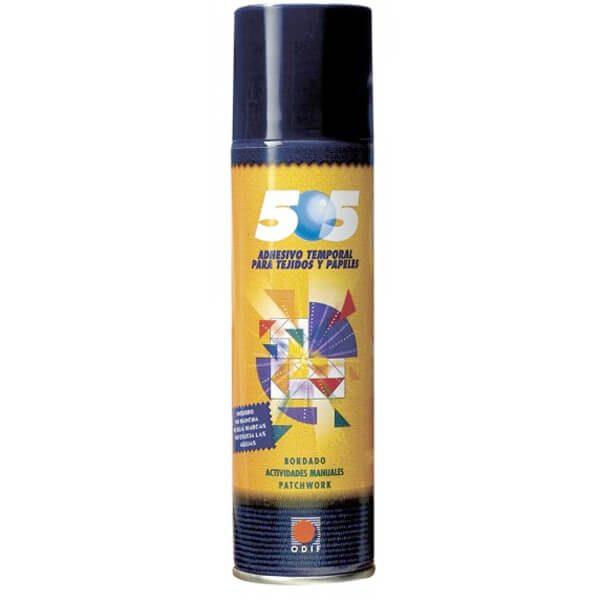 Adhesivo temporal en spray