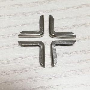 esquinera plata lisa pequeña