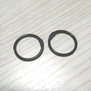 pack 2 anillas negras