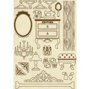 siluetas de madera
