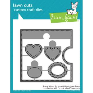 troqueles reveal wheel square add on lawn fawn