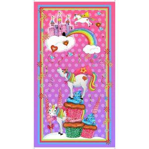 Panel con unicornios