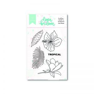 Sellos Acrílicos Flores Bali