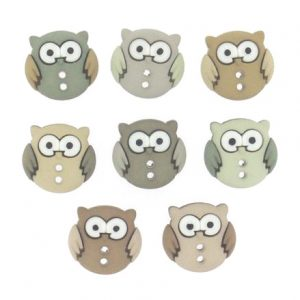 botones sew cute owl