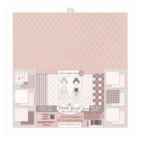 kit de papeles pink