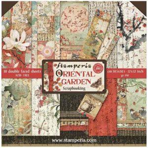 kit de papeles oriental garden