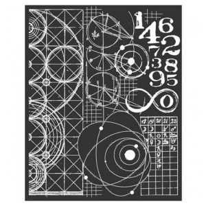 stencil cosmos astronomia