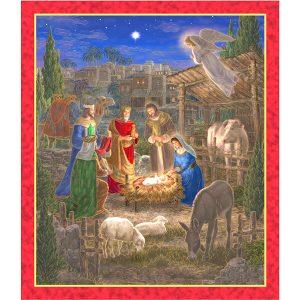 Panel Nativity