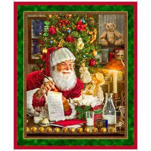 Panel navidad Papá Noel