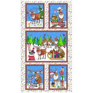 Panel navidad renos