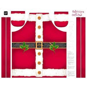 panel delantal Santa
