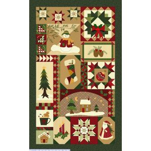 panel navideño tradicional