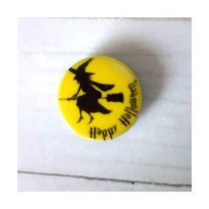 Botón Halloween bruja 2