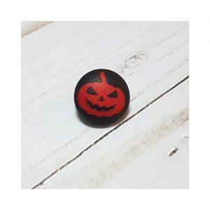 Botón Halloween calabaza