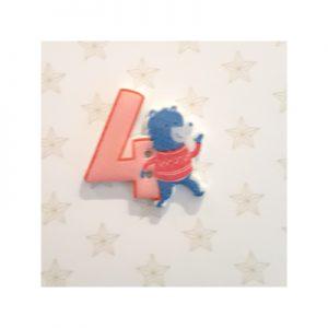 Botón infantil número 4