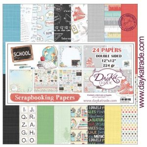 kit papeles school