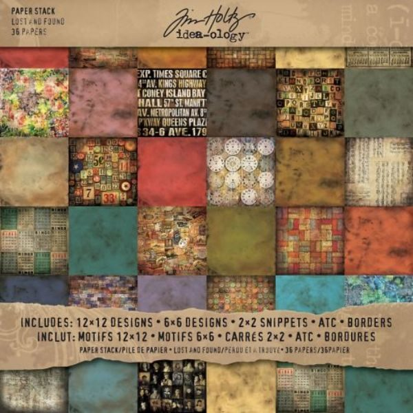 pad lost and found tim holtz
