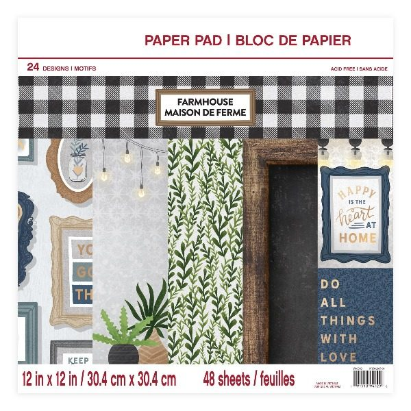 pad papeles farmhouse craft smart