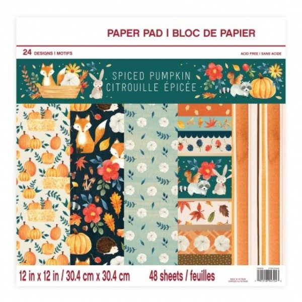 pad spiced pumpkin craft smart