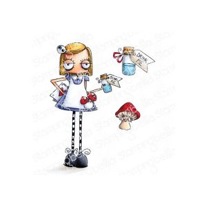 sellos alice in wonderland