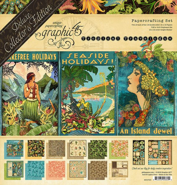 kit tropical travelogue collection