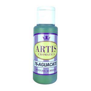 pintura acrilica mate aguacate