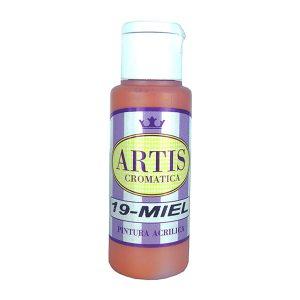 pintura acrilica mate miel