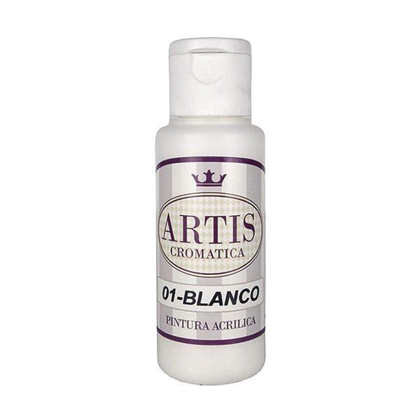 pintura acrilica mate blanco