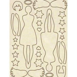 Silueta Stamperia Angel KLSP040
