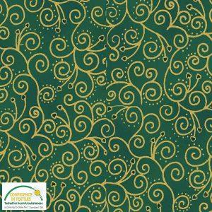 Tela-florituras-verde