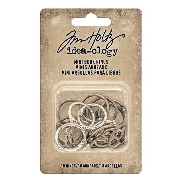 anillas metalicas vintage tim holtz