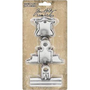 clips metalicos vintage tim holtz