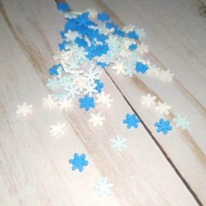 confetti copos de nieve